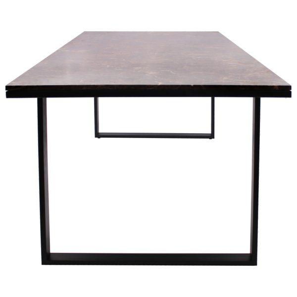 7039 - Eettafel Dalton 230 (Bruin)