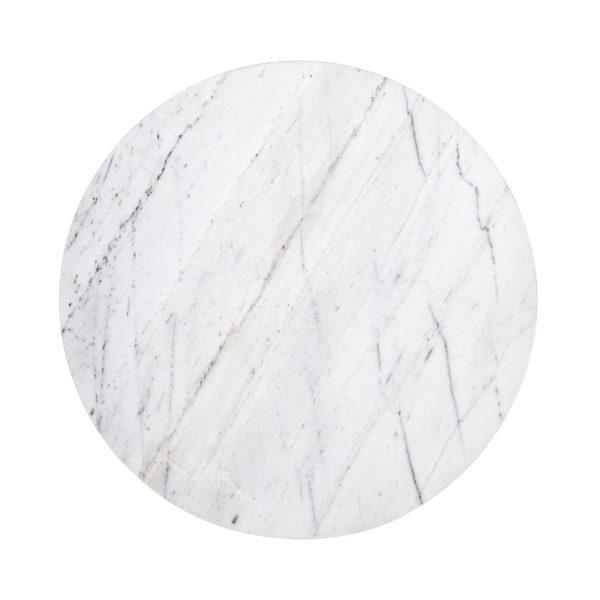 7052 - Bijzettafel Lexington 40Ø  (White)