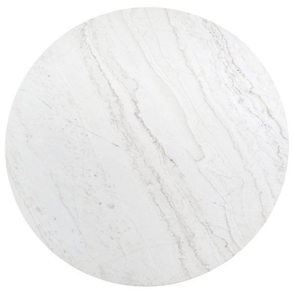 7057 - Eettafel Lexington 130Ø  (White)