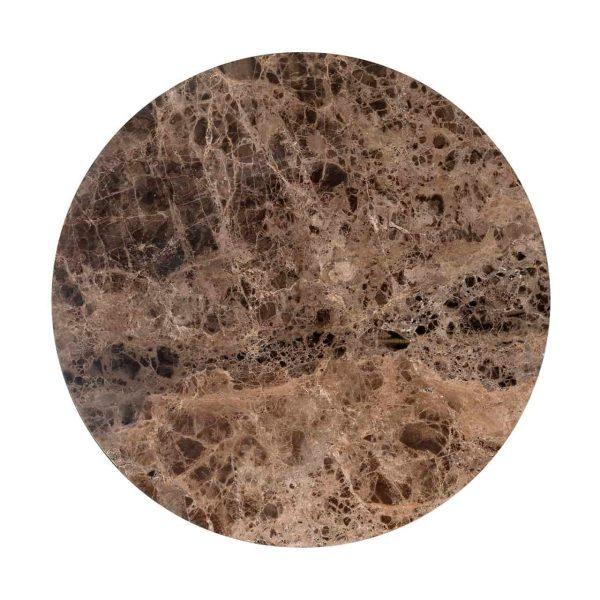 7216 - Salontafel Orion 80Ø  (Bruin)