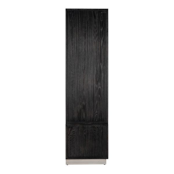 7400 - Linnenkast Blackbone silver 2-deuren 2-laden (Zilver)