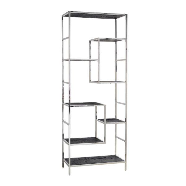 7409 - Wandkast Blackbone silver 7-planken (Zilver)
