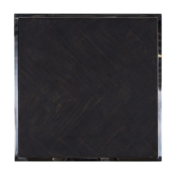 7422 - Bijzettafel Blackbone silver 50x50 (Zilver)