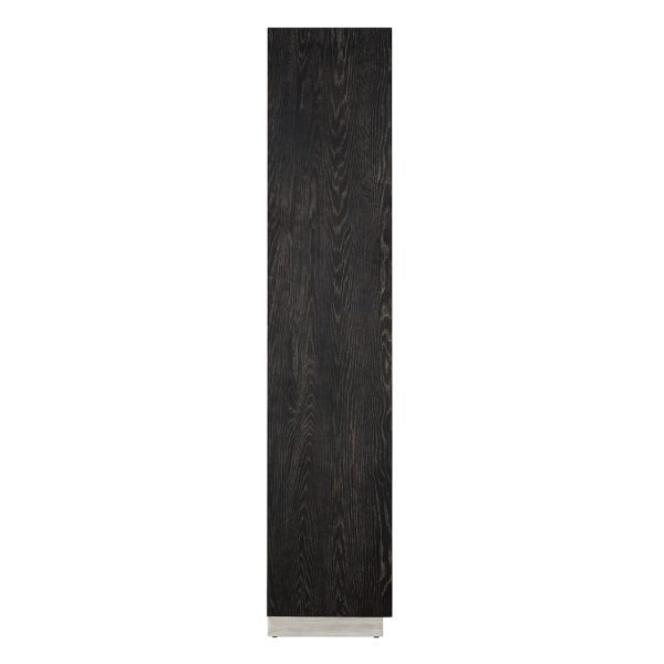 7428 - Wandkast Blackbone silver 2-deuren hoog (Zilver)