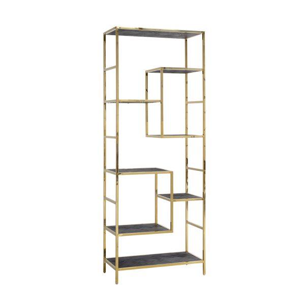 7449 - Wandkast Blackbone gold 7-planken (Goud)