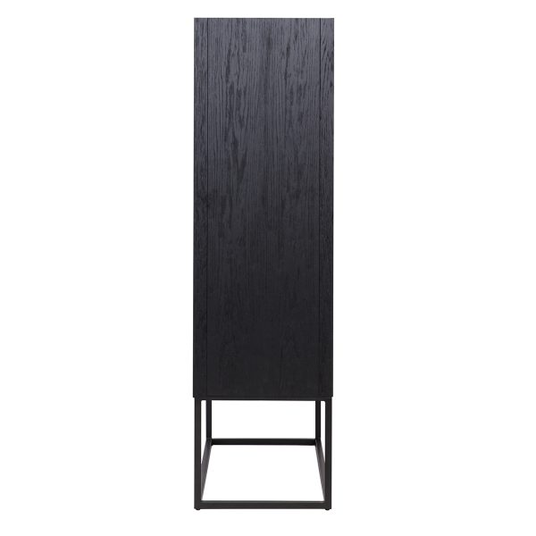 7540 - Wandkast Blax 2-deuren (Zwart)