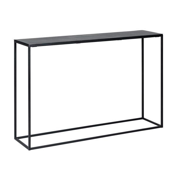 825070 - Wandtafel Bolder aluminium zwart (Zwart)