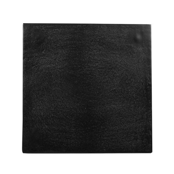 825071 - Bijzettafel Bolder aluminium zwart (Zwart)