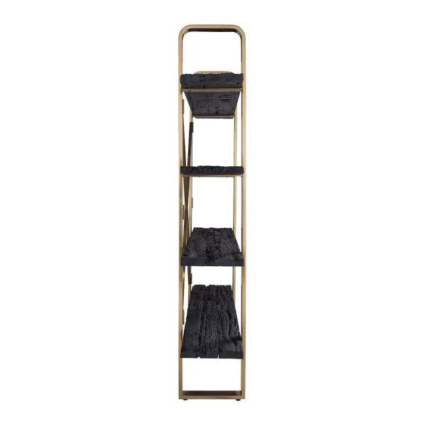 9115 - Boekenkast Vendôme 4-planken (Goud)