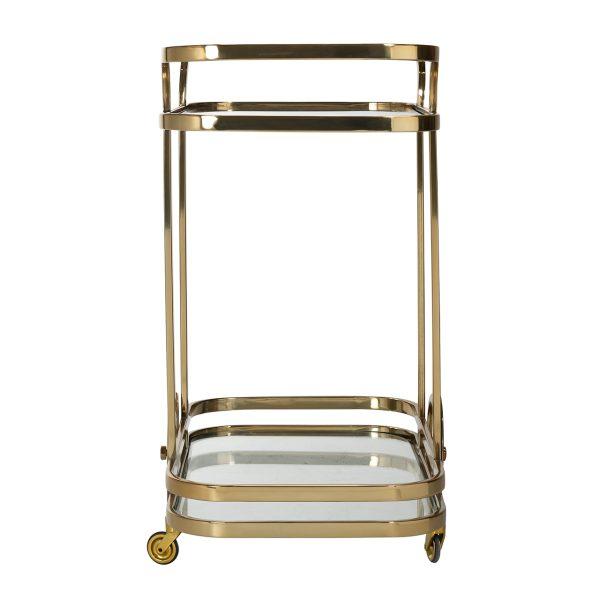 9421 - Trolley X.O. goud met glas (Goud)
