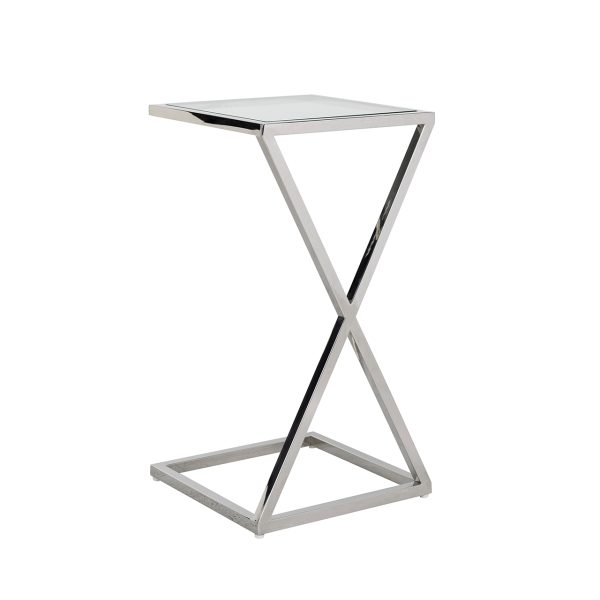 9437 - Sofa tafel Paramount (Zilver)