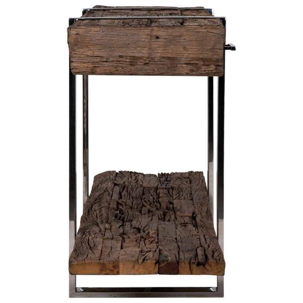 9871 - Dressoir Kensington 3-laden 1-plank (Zilver)