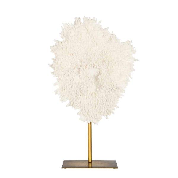 -FO-0013 - Faux koraal Jesse op standaard klein (Wit)