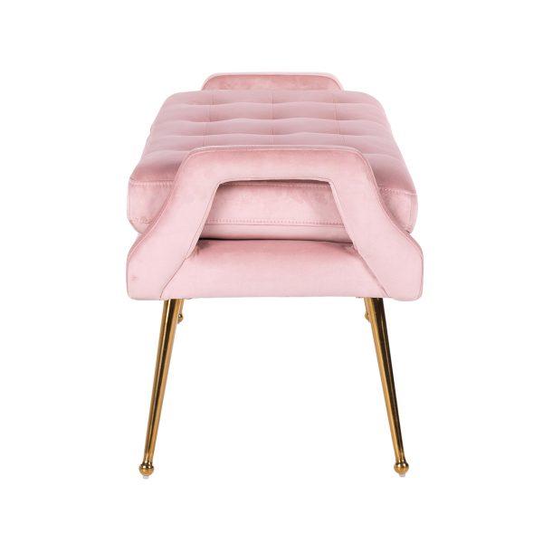 S4493 PINK VELVET - Bank Rebel Pink Velvet / gold (Quartz Pink 700)