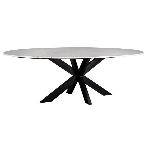 7061 - Eettafel Lexington ovaal 230  (White)