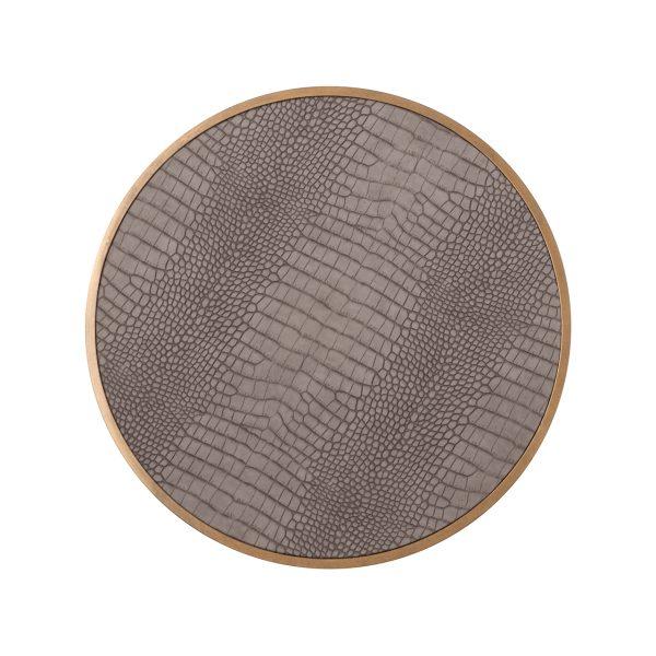 5Ø Vegan Leather (Brushed Gold)