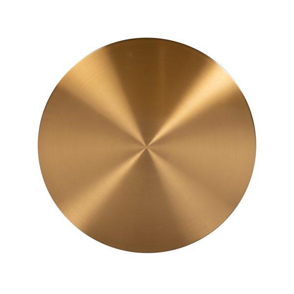 9913 - Salontafel Big & Rich set van 2 brushed gold (Brushed Gold)