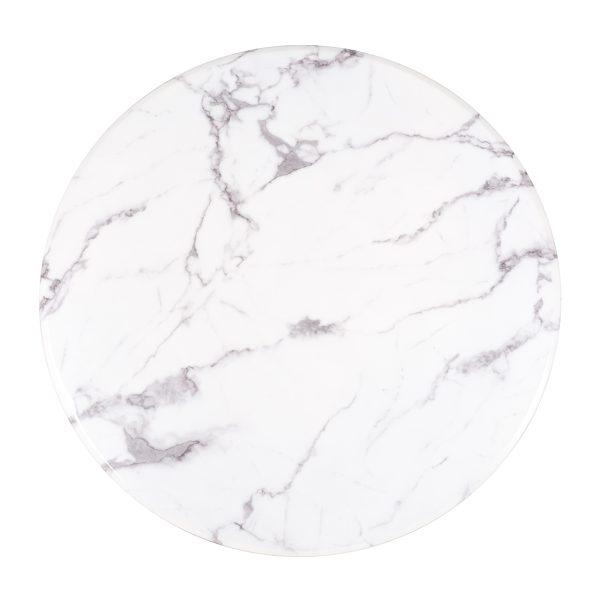 9915 - Eettafel Degas 120Ø  (White)