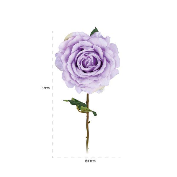-FL-0014 - Bloem Rose Lilac (24 stuks)