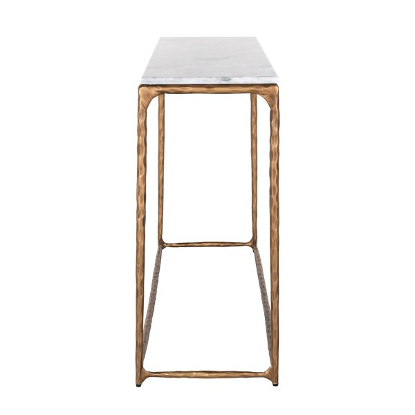7610 - Wandtafel Steel Smith brass  (Brushed Gold)
