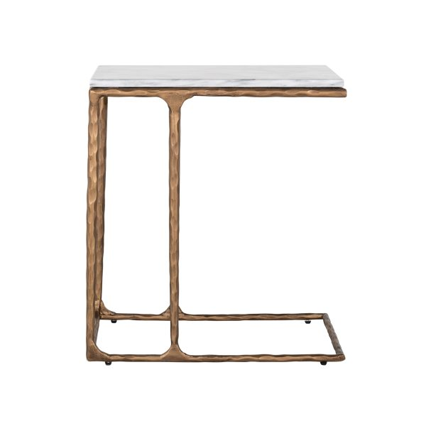 7612 - Sofa tafel Steel Smith brass  (Brushed Gold)
