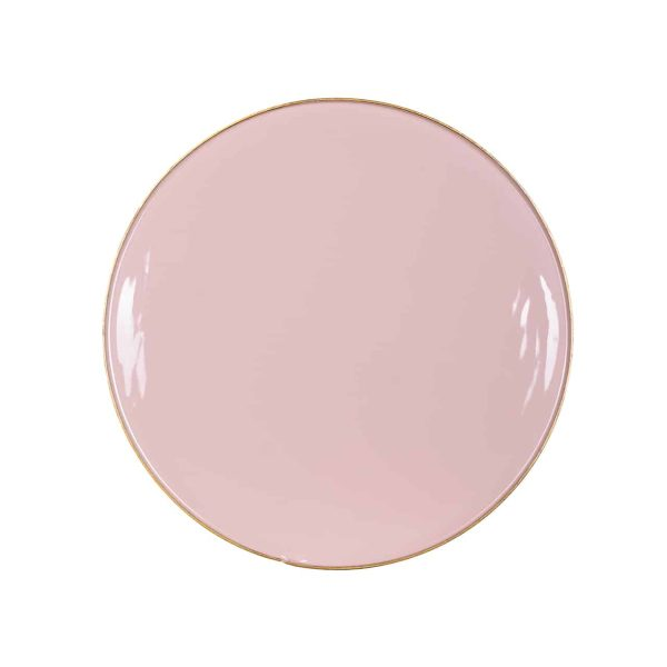 825090 - Bijzettafel Candy roze 35Ø  (Roze)