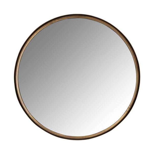 -MI-0059 - Spiegel Cedric 60Ø (Brushed Gold)