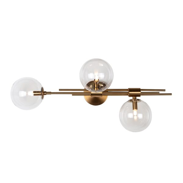 -ML-0008 - Wandlamp Davine (Brushed Gold)