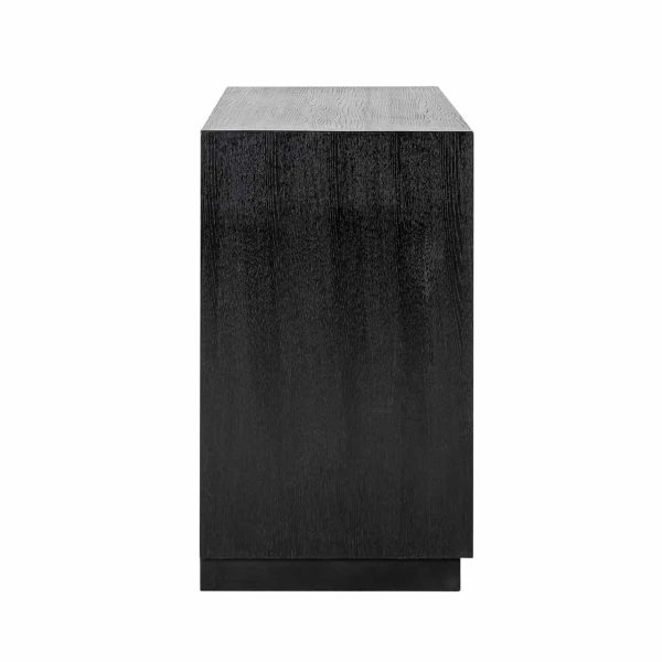 6522 BLACK - Dressoir Oakura 2-deuren (Zwart)