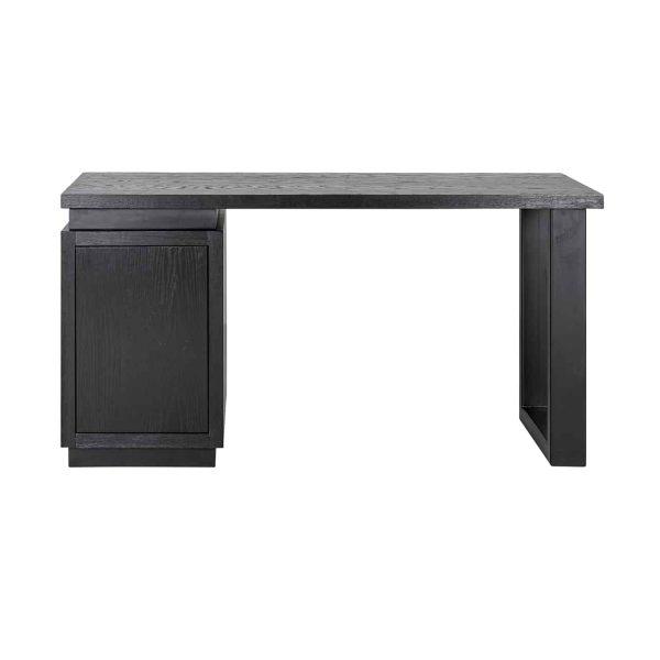 6523 BLACK - Bureau Oakura 1-deur (Zwart)